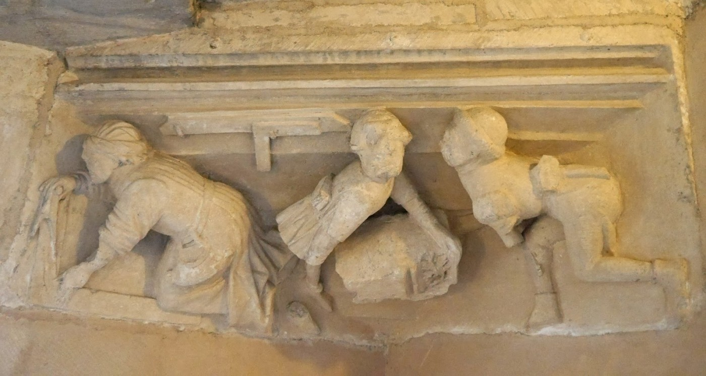 Masons in the Tower of Philip the Good
