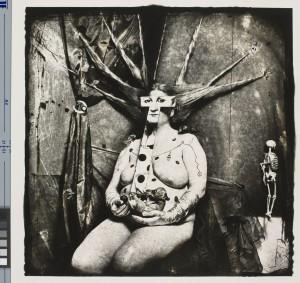 Joel-Peter Witkin. Portrait of Nan, 1984. Tirage aux sels d'argent. Paris, BNF, département des Estampes. Copyright Witkin