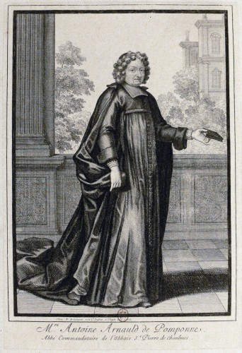 """Mre Antoine Arnauld de Pomponne"", dit l'abbé Arnauld"