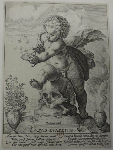 Atelier de Hendrick Goltzius, Quis evadet ?, 1594, gravure sur cuivre au burin. BnF, Département des Estampes et de la photographie, Ec-37c-Fol