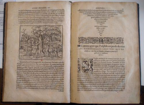 Songe de Poliphile, 1561, fol. 48v-49. BnF, Estampes, Ta-46 (a)-pet. fol.