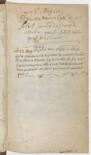 S. Leclerc, Pratique de la géométrie..., Paris, 1682. BnF, Estampes, Ia-5-4, page de garde.