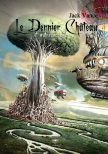 Le Dernier Château et autres crimes, couverture de Nicolas Fructus, Le Bélial', 2013.
