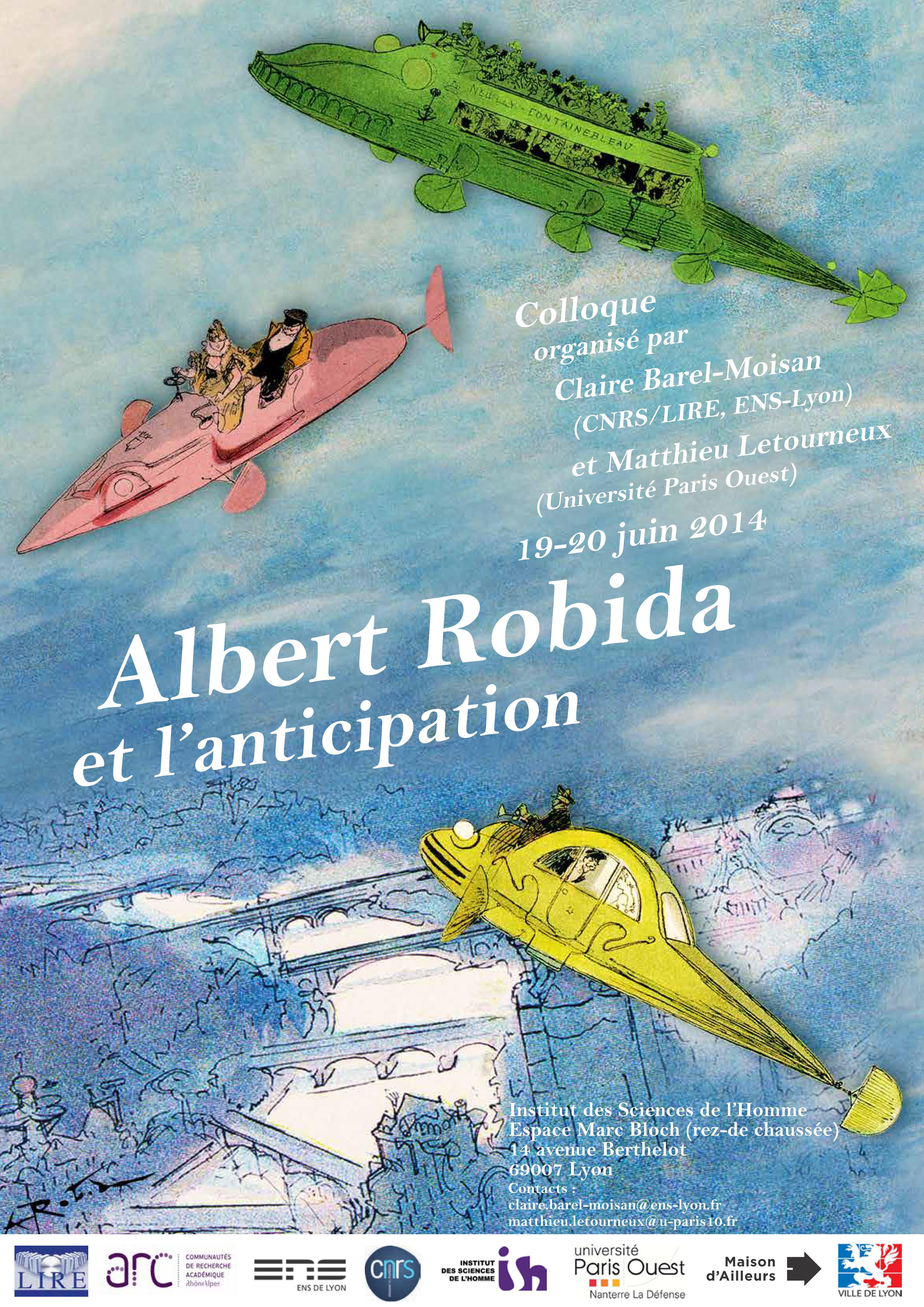 Albert Robida et l'Anticipation (19-20 juin 2014)