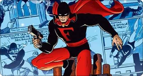 Xavier Fournier et l'histoire française des Super-héros
