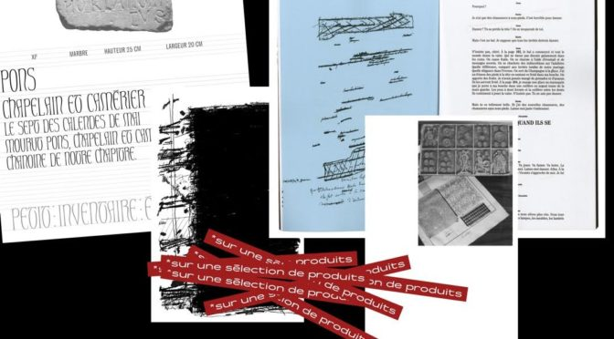 Chronique : recherches autour de l'identité graphique de Res Futurae (2)