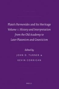 À propos d'un livre récent, Plato's Parmenides and Its Heritage, vol. 1.