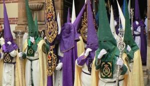 Procession à Málaga (Espagne), 2014 – cliché : Ph. Combessie