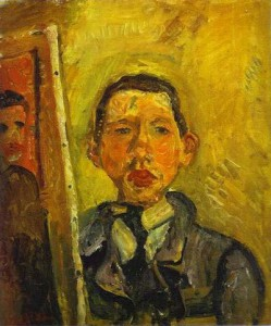 Chaim Soutine, Self-Portrait, 1918 © The Art Museum, Princeton University