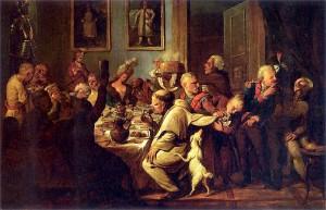 Uczta u Radziwillow (Banquet chez les Radziwill)