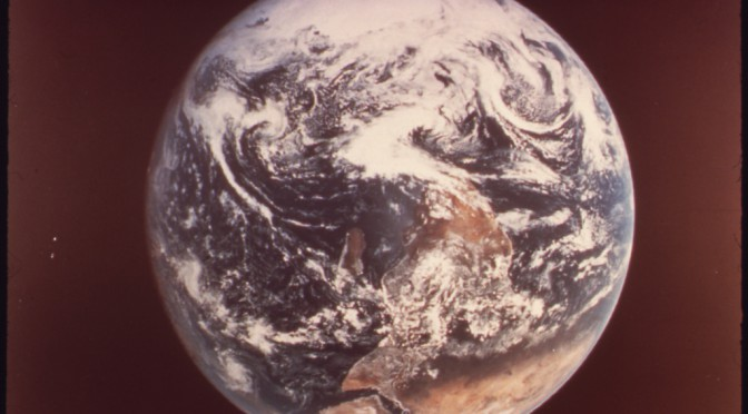 Duclos-Blue Marble Archives de la NASA 1972