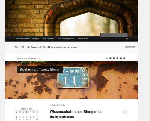 Bloghaus 2011 - Showcase Übersicht