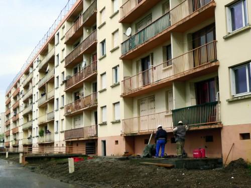 Rénovation des balcons
