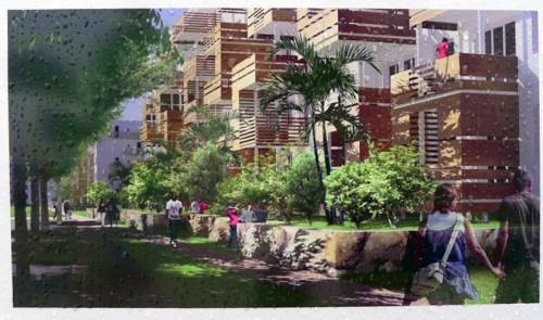 """Image projective illustrant """"Arago plante son nouveau décor"""""""