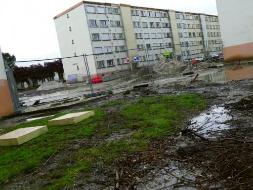 Le chantier et la gestion des espaces communs