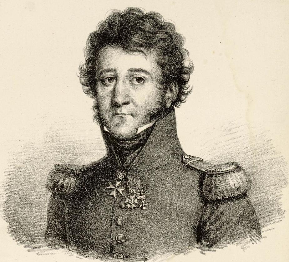 Portrait du comte de Forbin