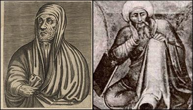 Avicenne (ibn Sina) et Averroès (ibn Rushd)