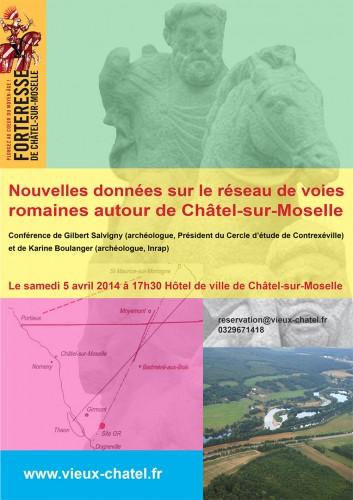 Conférence Châtel sur Moselle