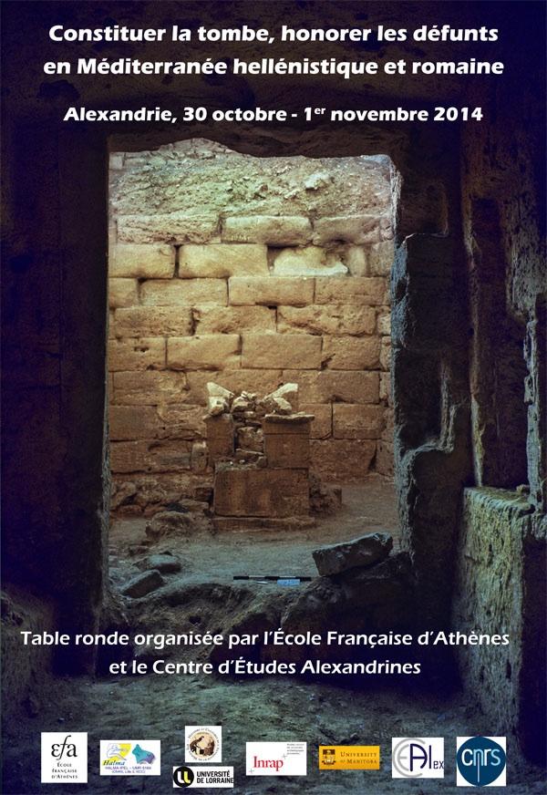 Alexandrie_Table ronde_Constituer la tombe_Affiche