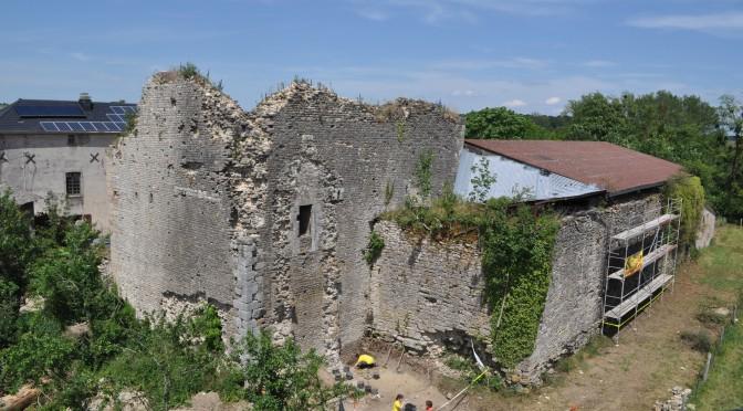 Tour seigneuriale de Darnieulles (Vosges) : De nouvelles observations