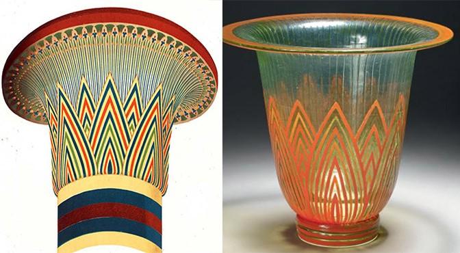 Les sources des décors égyptisants sur les verreries et marqueteries Gallé (conférence)