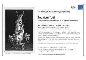 Einladung zur Ausstellungseröffnung