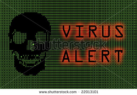 stock-photo-virus-alert-green-ascii-skull-abstract-art-22013101