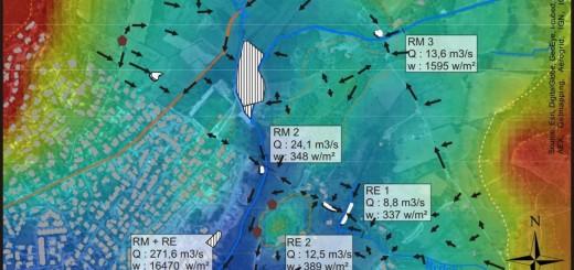 La crue du 6-7 octobre 2014: Dynamiques hydro-géomorphologiques et caractérisation des débits de pointe et des puissances spécifiques
