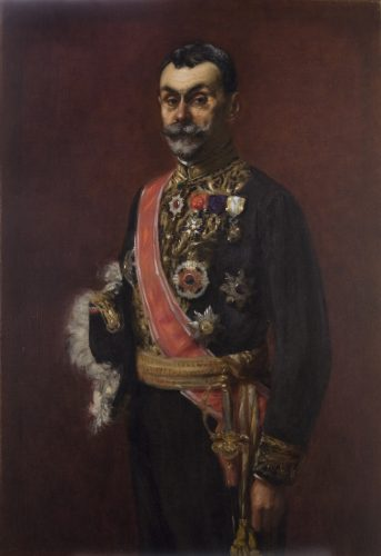 Portrait de Victor Collin de Plancy (1856-1922), de Henri Bernard (Paris, 1860-1927), huile sur toile. Legs Collin de Plancy, 1923. Musée Saint-Loup, Troyes. © Troyes, Musée Saint-Loup / Carole Bell