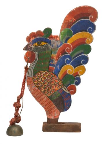 Phénix et passementerie, début du XXe siècle. Collection Musée du kokdu (Séoul) © Image Musée du kokdu