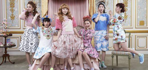 Tea party chez Marie-Antoinette, groupe de Kpop Laboum, Séoul, Corée © Françoise Huguier.