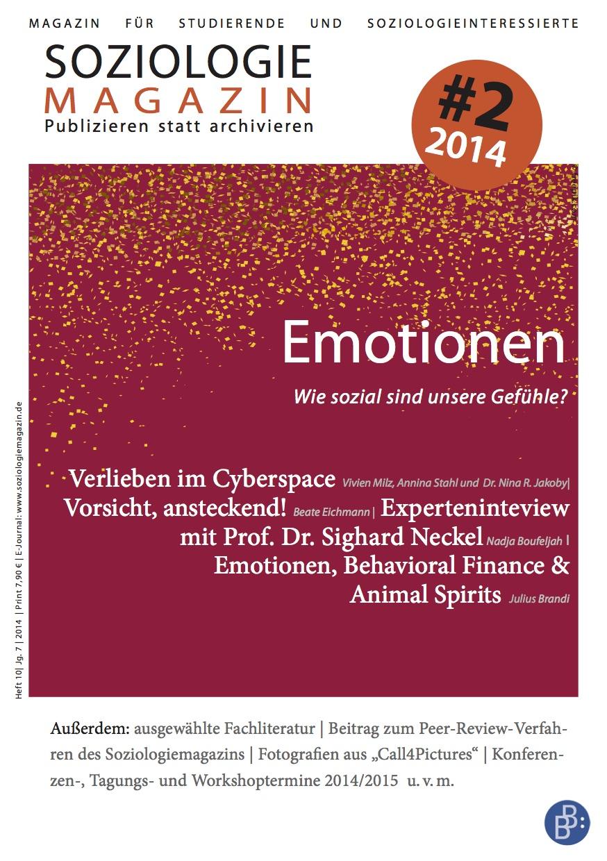 Emotionen - wie sozial sind unsere Gefühle?