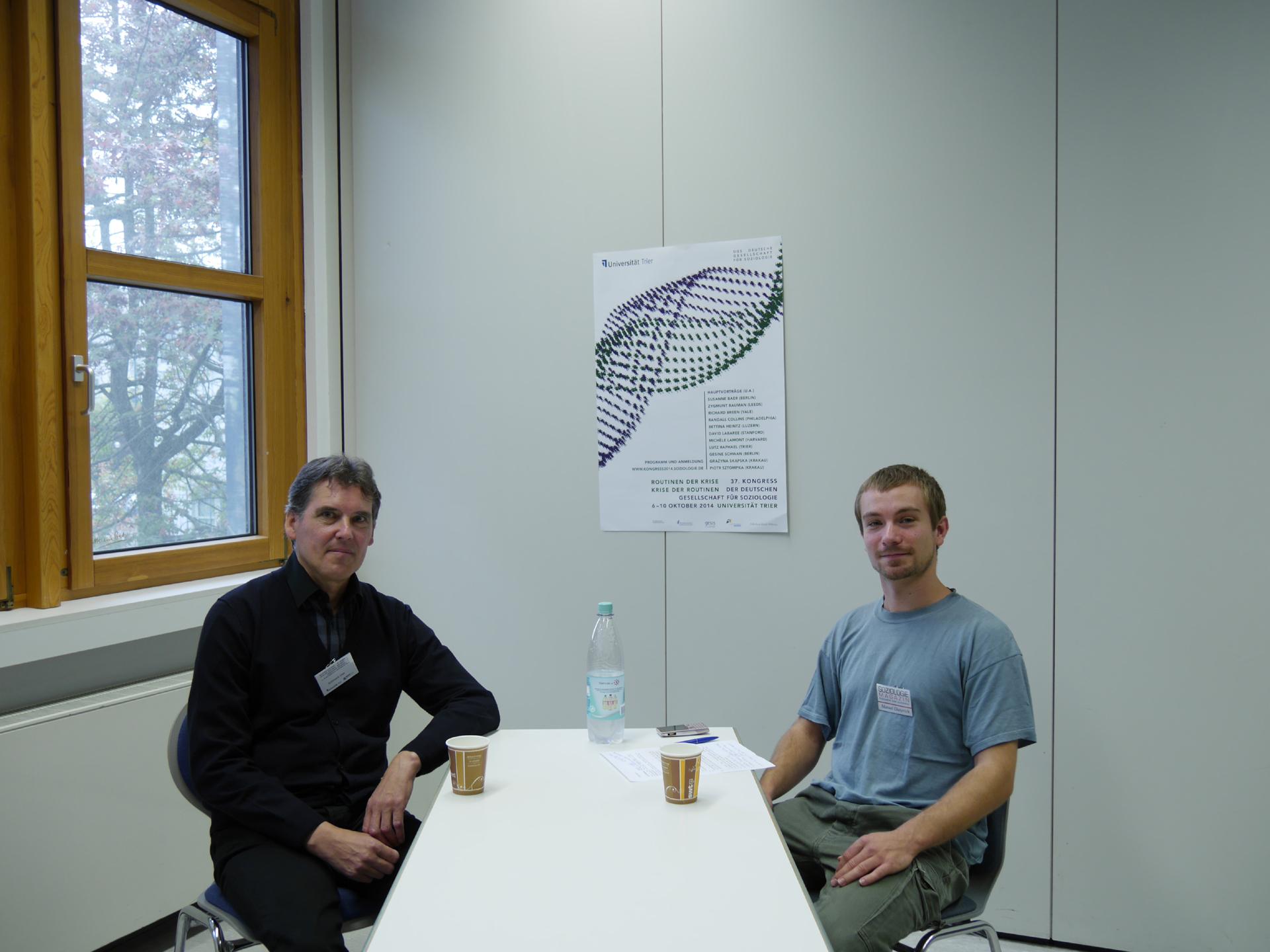 Interview mit Uwe Schimank.