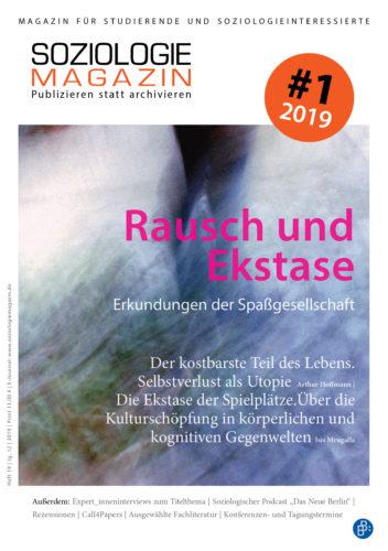 Cover der 19. Ausgabe des Soziologiemagazins