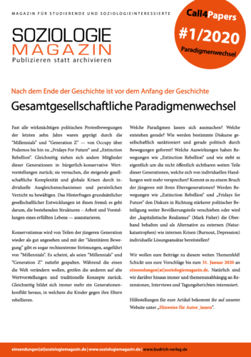 Call4Papers - Paradigmenwechsel