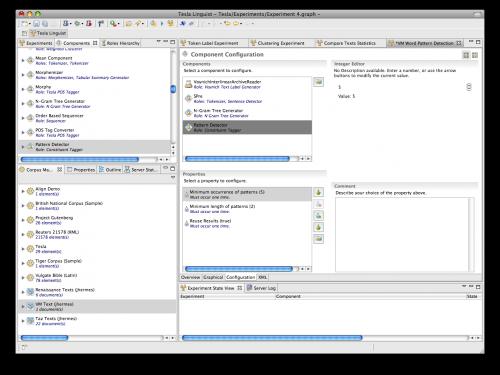 Tesla-Client mit Konfigurations-Editor