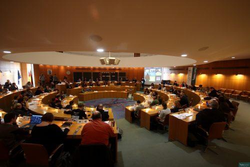 "Der ""War Room"" (Moritz Hoffmann). Foto: @histocamp CC-BY-NC-SA"