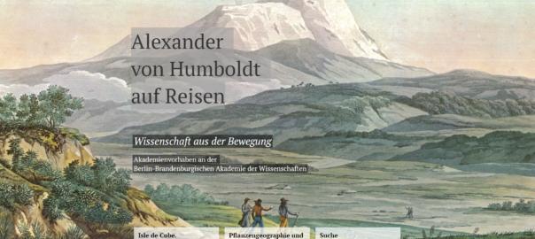 Übung: Spuren des Alexander von Humboldt