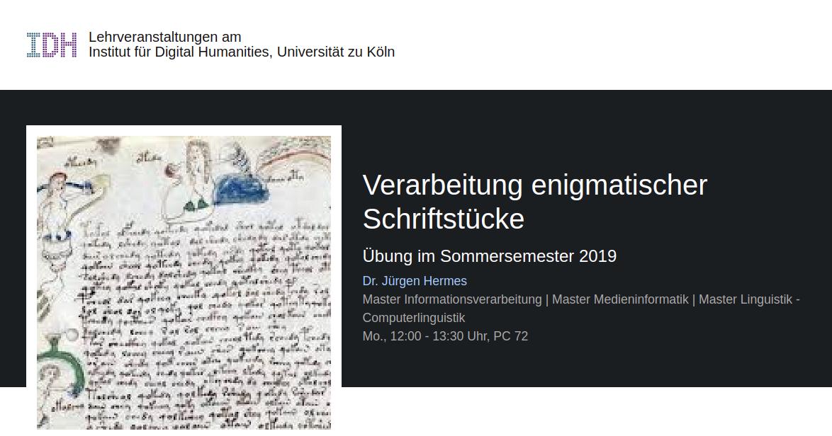 Was ist los im Voynich-Manuskript?