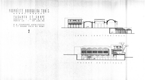 Fig. 1 Maison Bourguiba 1954