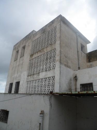 Fig. 7 villa principale, façade est