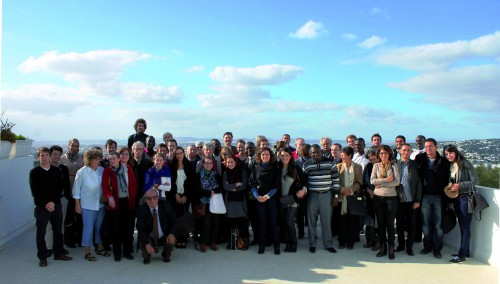 Photo de groupe des participants du colloque de Tunis. © Emna Khemiri