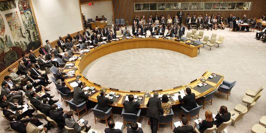 Conseil de sécurité des Nations unies. © Le monde.fr