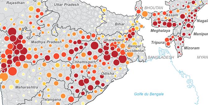 Les minorités tribales dans les territoires de l'Union indienne