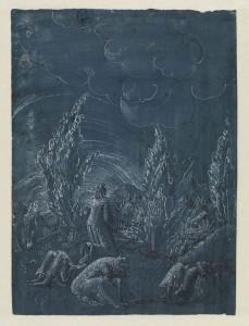Christus am Ölberg, Albrecht Altdorfer
