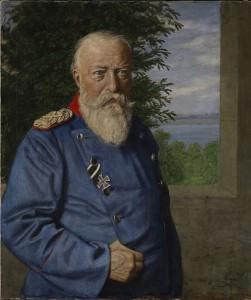 Grossherzog Friedrich I. von Baden, Hans Thoma