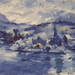 Luzerner See am Nachmittag, Lovis Corinth