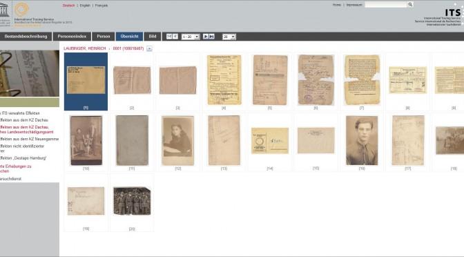 ITS stellt Dokumente über NS-Verfolgung online