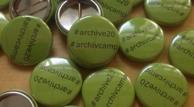 Eine kleine Gebrauchsanweisung: Unkonferenz – Archivcamp: 4.+5.11.2019 (Berlin, Offene Archive)