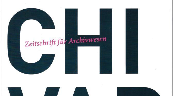 Archivar 1/2018: Tim Odendahl: Archive im Quadrat. Instagram für Archive